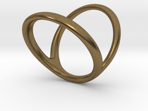 ring for Jessica ring-finger in Natural Bronze