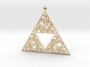 Yin Yang Reverie in 14k Gold Plated Brass