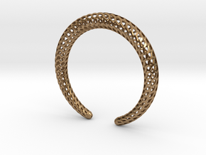 DRAGON Strutura, Bracelet. in Natural Brass: Medium
