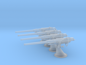 1/100 Russian 75 mm / 50 Cal. Gun Set in Smooth Fine Detail Plastic