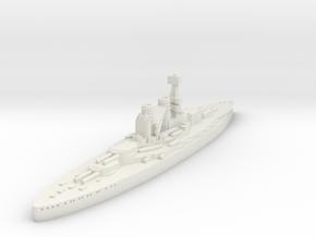 Bayern Class Battleship (Germany) GW1914 in White Natural Versatile Plastic
