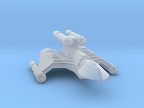 3788 Scale Romulan FireHawk-K+ Heavy Cruiser MGL in Smooth Fine Detail Plastic