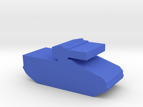 Game Piece, Blue Force Marder IFV in Blue Processed Versatile Plastic