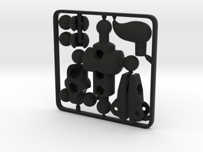 Moli (female) Modifier Kit for ModiBot Mo in Black Premium Strong & Flexible