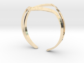 YOUNIVERSAL YY Bracelet in 14K Yellow Gold: Medium
