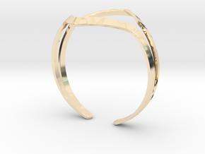 YOUNIVERSAL YY Bracelet in 14K Yellow Gold: Medium