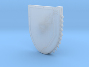 Right-handed Chainshield in Smooth Fine Detail Plastic: Small
