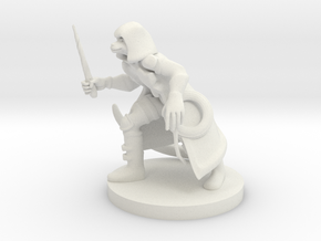 Catfolk Shadow Sorceress in White Natural Versatile Plastic