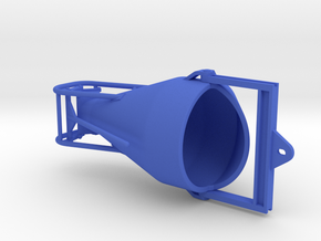 1:50 Concretebucket 1250L , Betonkubel 1250L in Blue Processed Versatile Plastic