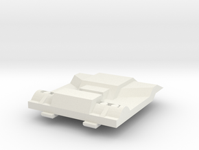 Outback Chest Plate V5 in White Natural Versatile Plastic