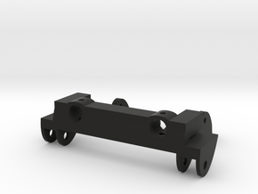 SCX10 Leaf Spring Combo w/ Bumper Mount in Black Strong & Flexible