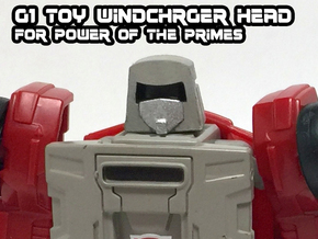 Windcharger (G1 Toy) Head for PotP in Smooth Fine Detail Plastic