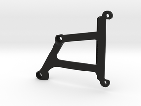 106002-01 Blitzer Lower Chassis Brace in Black Strong & Flexible