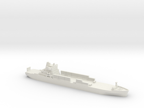 1/1200 Atlantic Conveyor in White Natural Versatile Plastic