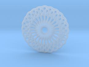 Mandala shape in Smoothest Fine Detail Plastic