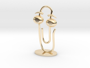 CLIPPY 2.0 (small) in 14k Gold Plated Brass