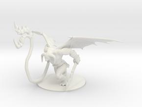 Balor in Combat (One piece) in White Natural Versatile Plastic