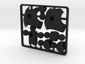 MoBility Stopmotion Torso for ModiBot in Black Premium Strong & Flexible