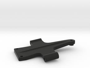 Tamiya Grasshopper Bulkhead for TA-07 Pro arms in Black Natural Versatile Plastic