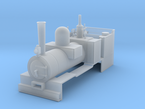 RAR Mars loco in Smooth Fine Detail Plastic