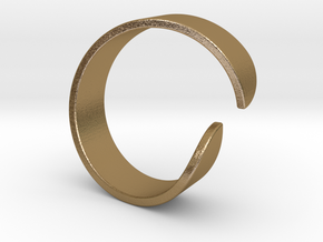 Sharing ring in Polished Gold Steel: 3 / 44