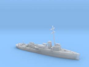 1/600 Scale HMS Bangor Minesweeper 1939 Programe in Smooth Fine Detail Plastic
