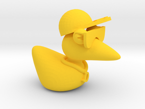 The Cool Duck in Yellow Strong & Flexible Polished
