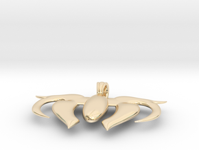 Heart Scale  in 14K Yellow Gold