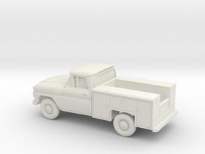 1/87 1962 Chevrolet C Series Utility in White Natural Versatile Plastic