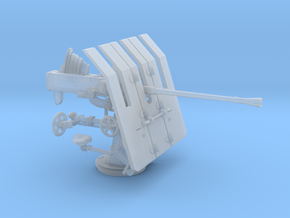 1/60 DKM 3.7cm Flak M42 Single Mount in Smooth Fine Detail Plastic