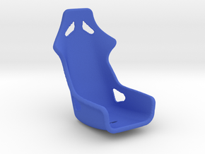 1/24 Harness Racing Seat in Blue Processed Versatile Plastic