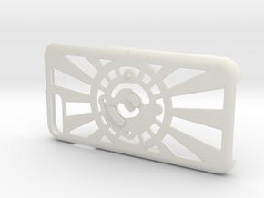 for iPhone 8Plus - 7Plus : redial : CASECASE CLICK in White Premium Versatile Plastic