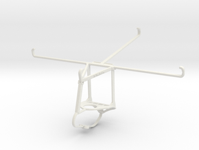 Controller mount for Nimbus & Apple iPad 4 Wi-Fi - in White Natural Versatile Plastic
