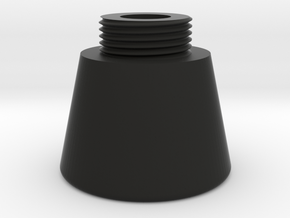Stethoscope Bell Chest piece in Black Natural Versatile Plastic