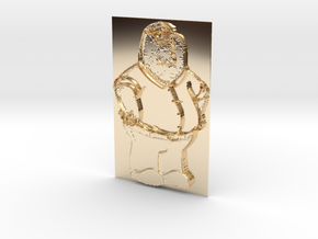 Peter Griffin Pendant in 14K Yellow Gold