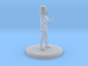 Mileena (MKX) in Smooth Fine Detail Plastic