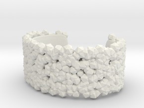 Bracelet Structure in White Strong & Flexible