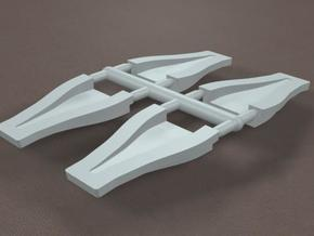 1/16 Scale 2 inch NACA Ducts in Frosted Ultra Detail
