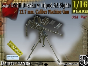 1/16 DSHK Dushka w-Tripod AA Sights  in Smooth Fine Detail Plastic