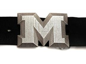 Buckle M in Stainless Steel
