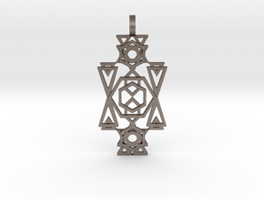 Galactic Transporter in Polished Bronzed Silver Steel