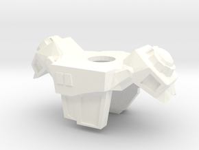 LU Engineer Armor Rank 3 in White Processed Versatile Plastic