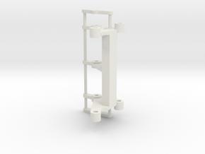 LR LG1750 sheaves support in White Natural Versatile Plastic