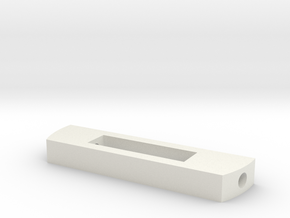 MPP2.0 - Part 2/10 - Battery locking part in White Natural Versatile Plastic