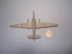 1/285 (6mm) TR-1 (U-2) Spy Plane in White Natural Versatile Plastic