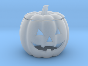 Halloween Pumpkin LED candle holder in Smooth Fine Detail Plastic