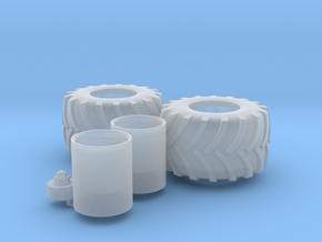 H0 1:87 Reifen 1050/50 R32 in Smooth Fine Detail Plastic