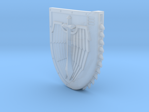 Right-handed Chainshield (Winged Sword design) in Smooth Fine Detail Plastic: Small