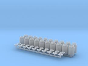 H0 1:87 Milchkanne 40l in Smooth Fine Detail Plastic