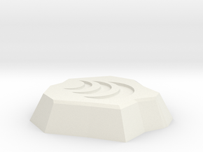 Air Rune in White Natural Versatile Plastic